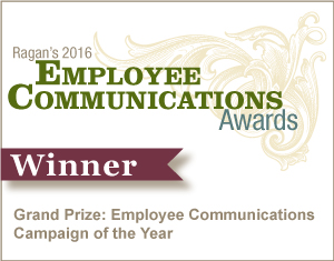 Grand Prize: Employee Communications Campaign of the Year