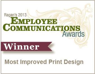 Most Improved Print Design
