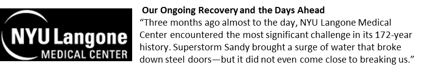 """""""Our Ongoing Recovery and the Days Ahead""""- Logo"""