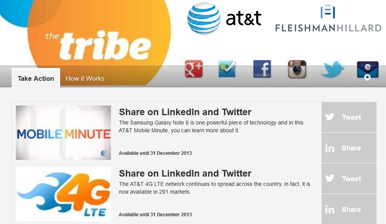 AT&T's Twitter Tribe Program- Logo