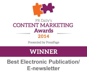 Best Electronic Publication/E-newsletter