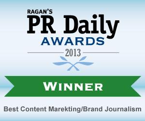 Best Content Marketing/Brand Journalism