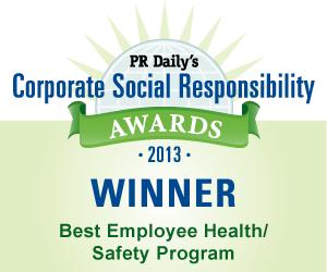 Best Employee Health/Safety Program