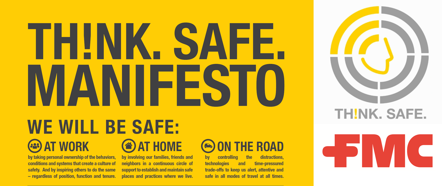 TH!NK.SAFE. - Logo