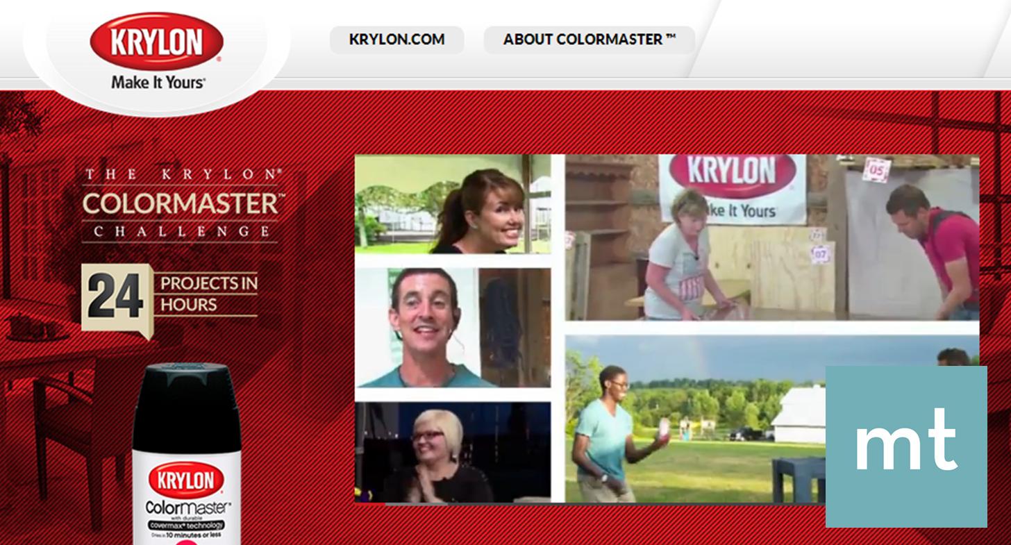 The Krylon ColorMasterChallenge: 24 in 24- Logo