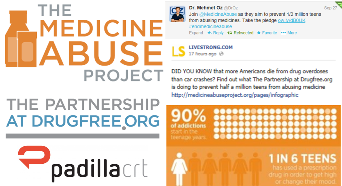 The Medicine Abuse Project: Preventing Half a Million Teens from Abusing Medicine by 2017- Logo