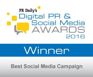 Grand Prize: Best Social Media Campaign