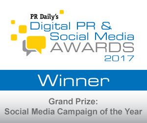 Grand Prize: Social Media Campaign of the Year