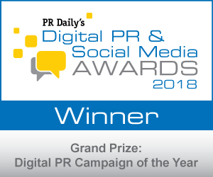 Grand Prize: Digital PR Campaign of the Year