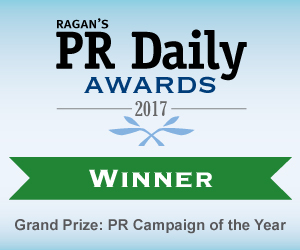 Grand Prize: PR CAMPAIGN OF THE YEAR