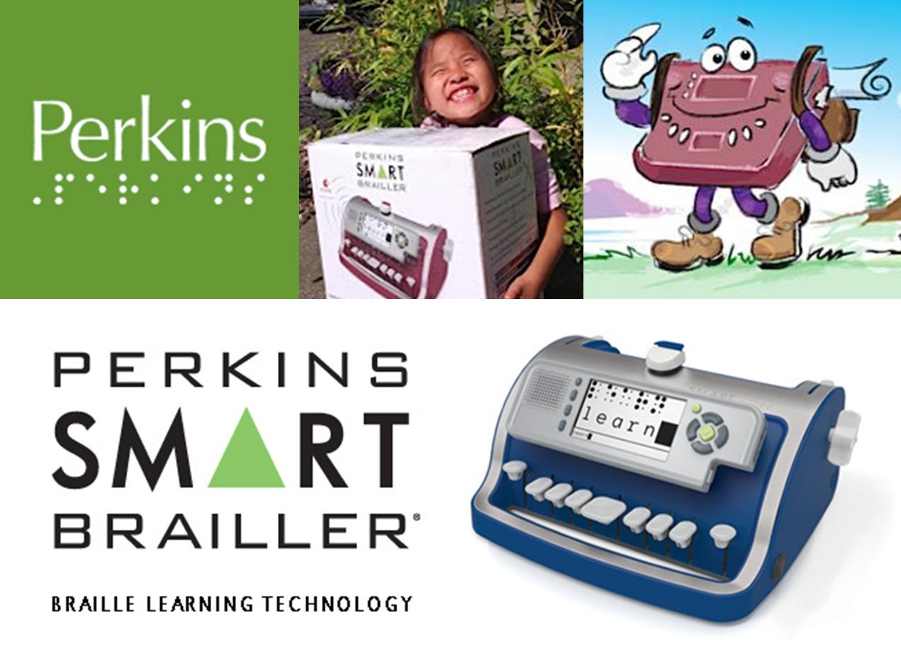 Backpacking SMART Brailler- Logo