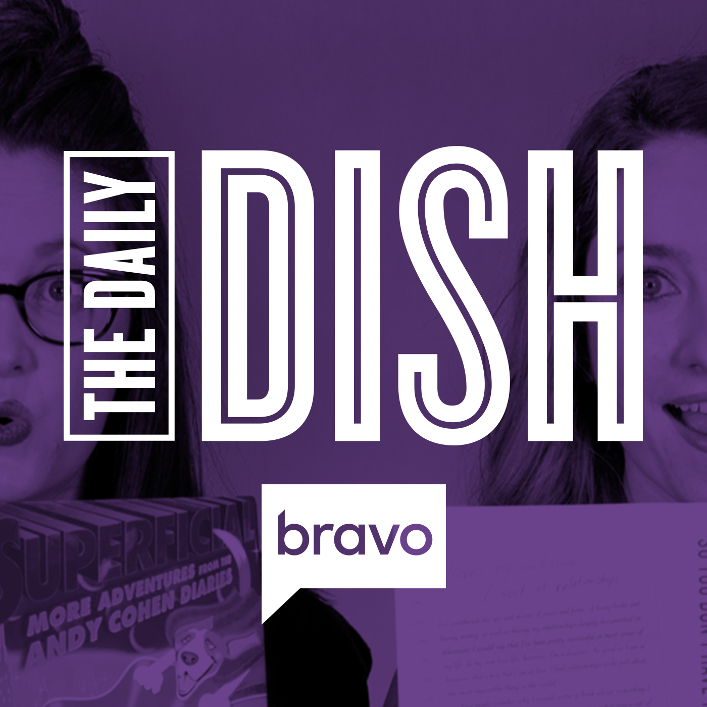 Bravo TV's The Daily Dish Podcast- Logo