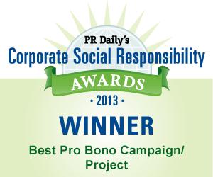 Best Pro Bono Campaign/Project