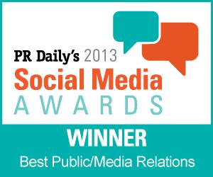 Best Use of Social Media for Public/Media Relations