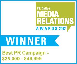 Best PR Campaign - $25,000-$49,999 - Health Care Communication News