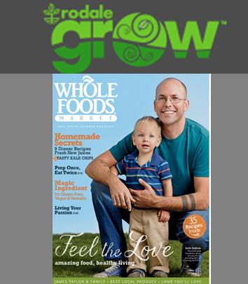 Whole Foods Market magazine- Logo