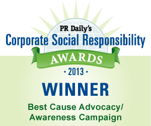 Best Cause Advocacy/Awareness Campaign