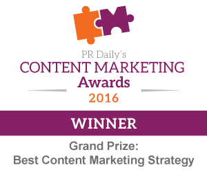 Grand Prize Best Content Marketing Strategy