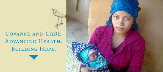 Covance-CARE Nepal Saving Mothers' and Infants' Lives (SMILE) in Nepal- Logo