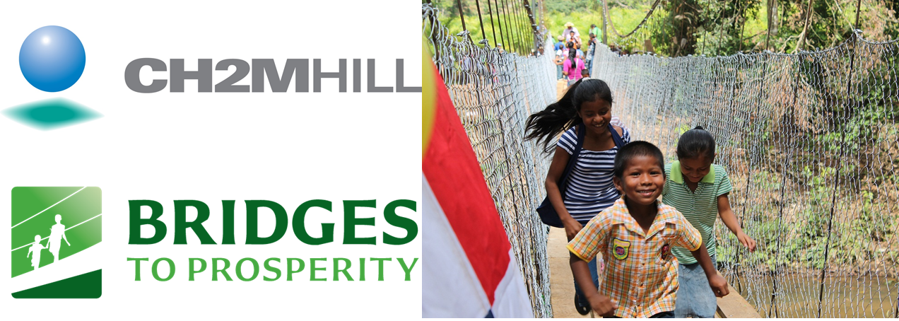 Bridges to Prosperity and CH2M Hill Partnership- Logo