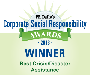 Best Crisis/Disaster Assistance