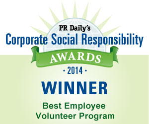 Best Employee Volunteer Program