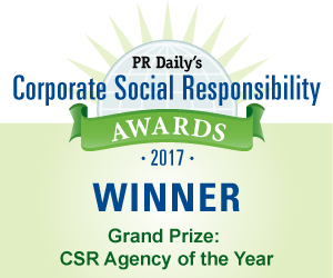 Grand Prize: CSR Agency of the Year