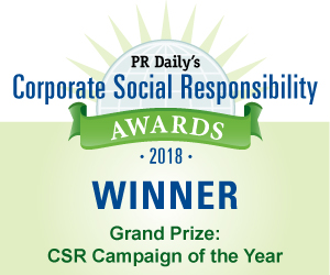 Grand Prize: CSR Campaign of the Year