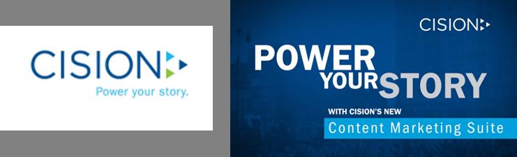 Cision Content Marketing Suite Launch- Logo
