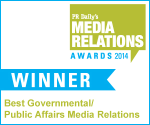 Best Governmental/Public Affairs Media Relations