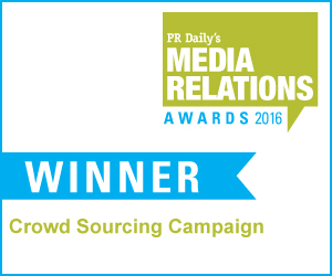 Best Crowd Sourcing Campaign