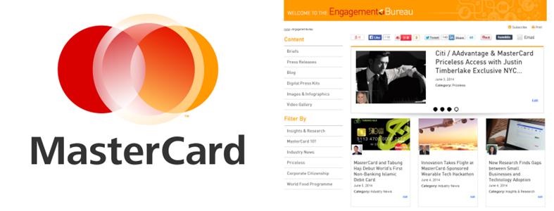 The MasterCard Engagement Bureau- Logo