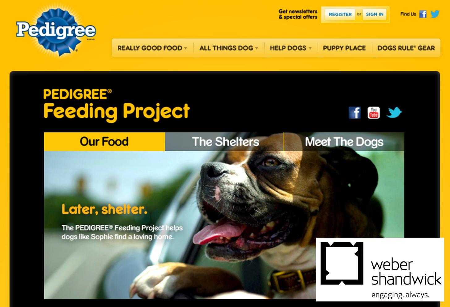 The PEDIGREE® Feeding Project - Logo