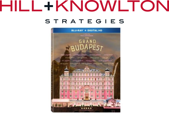 The Grand Budapest Hotel- Logo