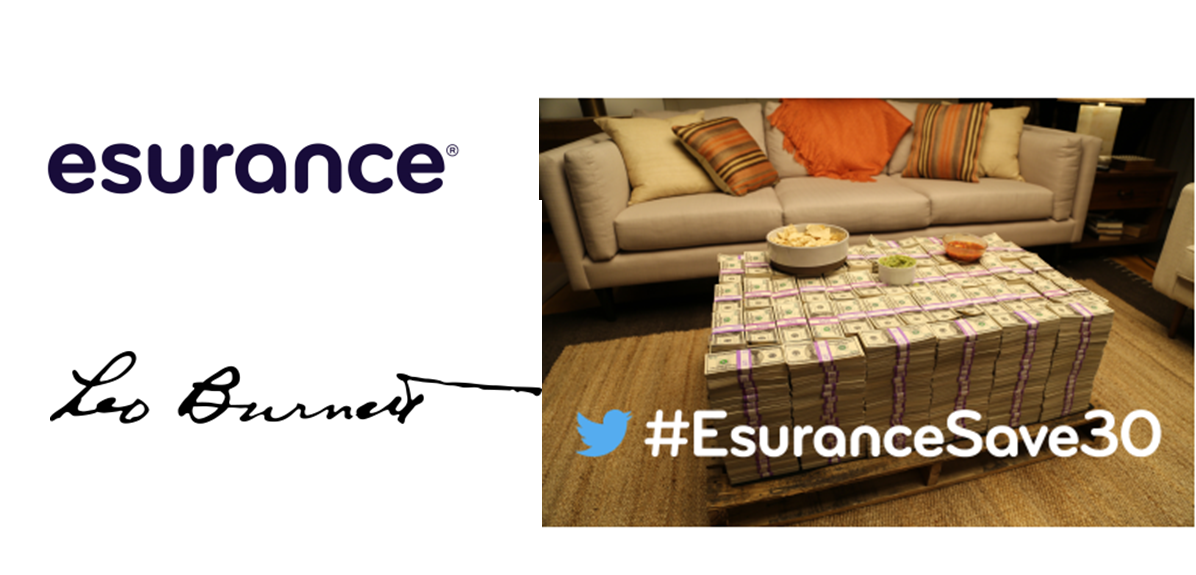 #EsuranceSave30: A Giveaway That Made History- Logo