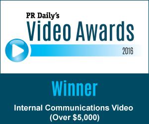 Internal Communications Video > Over $5,000