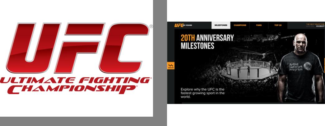 UFC 20th Anniversary- Logo