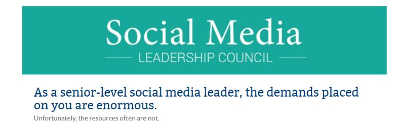 Why senior social media leaders should apply to this exclusive membership organization