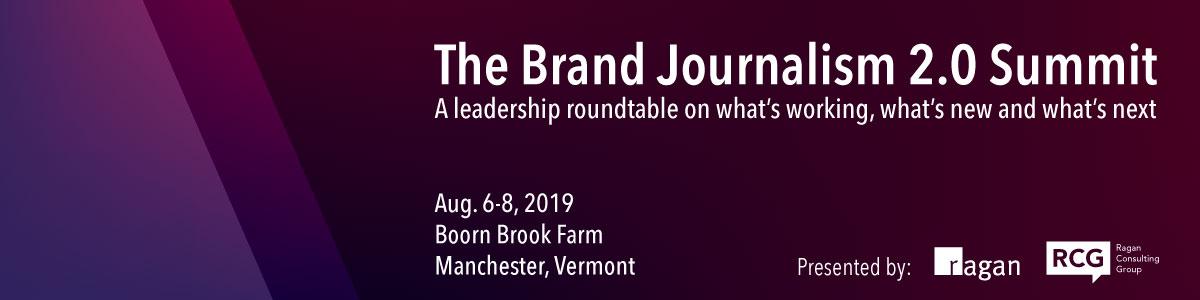 Brand Journalism 2.0 Summit