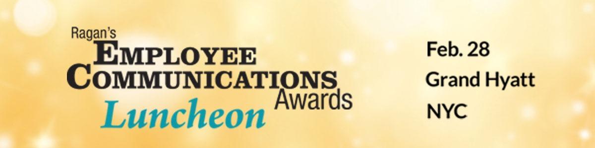Ragan's Employee Communications Awards Luncheon 2020