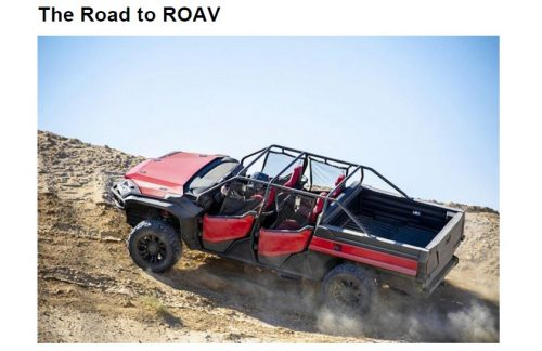 """""""The Road to ROAV"""""""