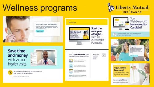 """""""Liberty Mutual Well-Being Programs"""""""