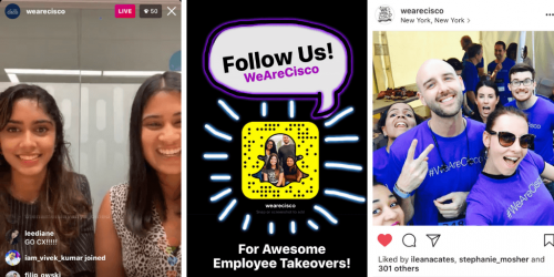 """""""@WeAreCisco Social Media with Employee-Generated Content"""""""