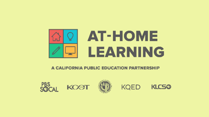 At-Home Learning / Organizational Coronavirus Responses- Logo