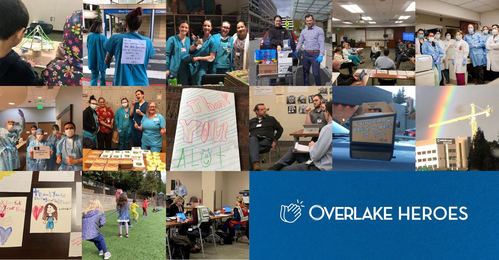 Overlake's COVID-19 Response- Logo