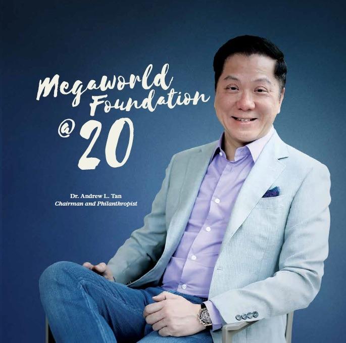 Megaworld Foundation @ 20- Logo
