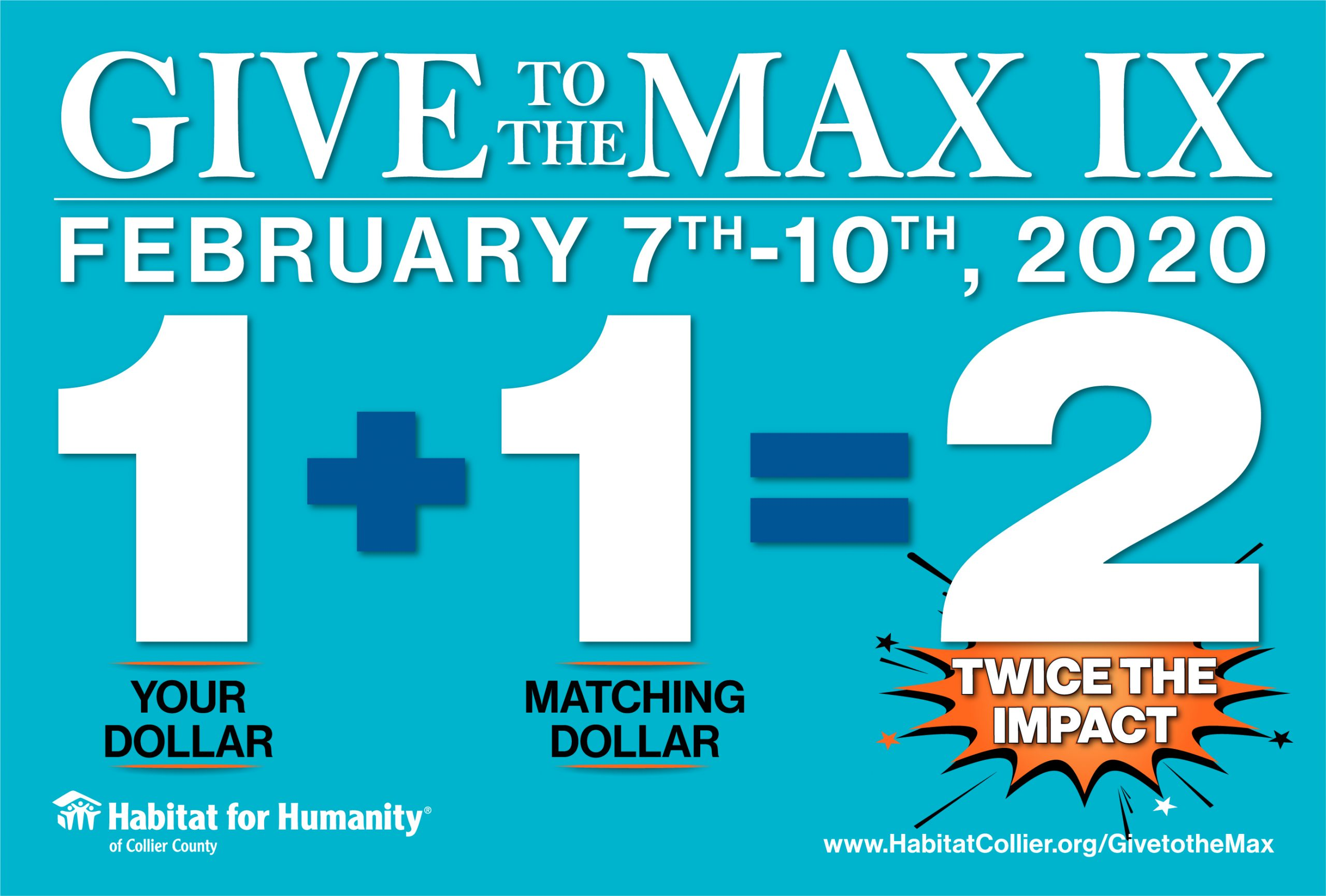 Give to the Max IX- Logo