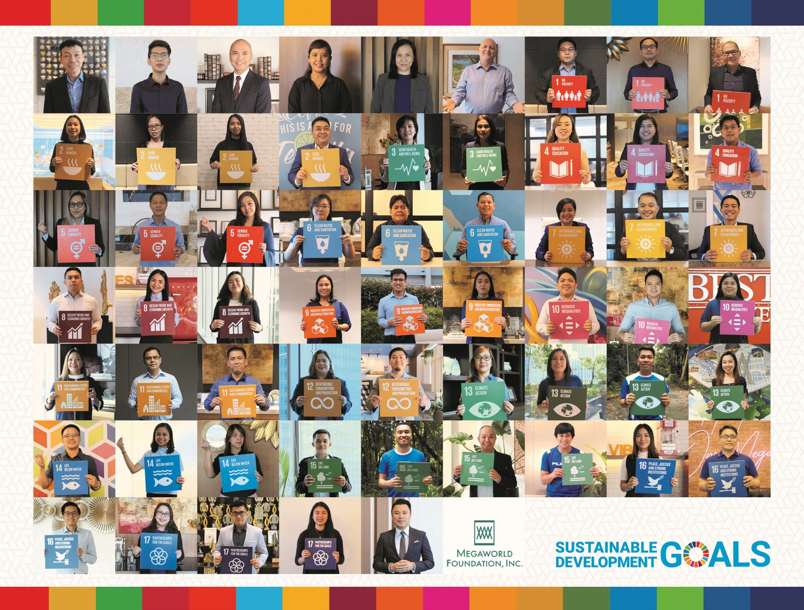 Megaworld Takes a Stand for the United Nations Sustainable Development Goals- Logo
