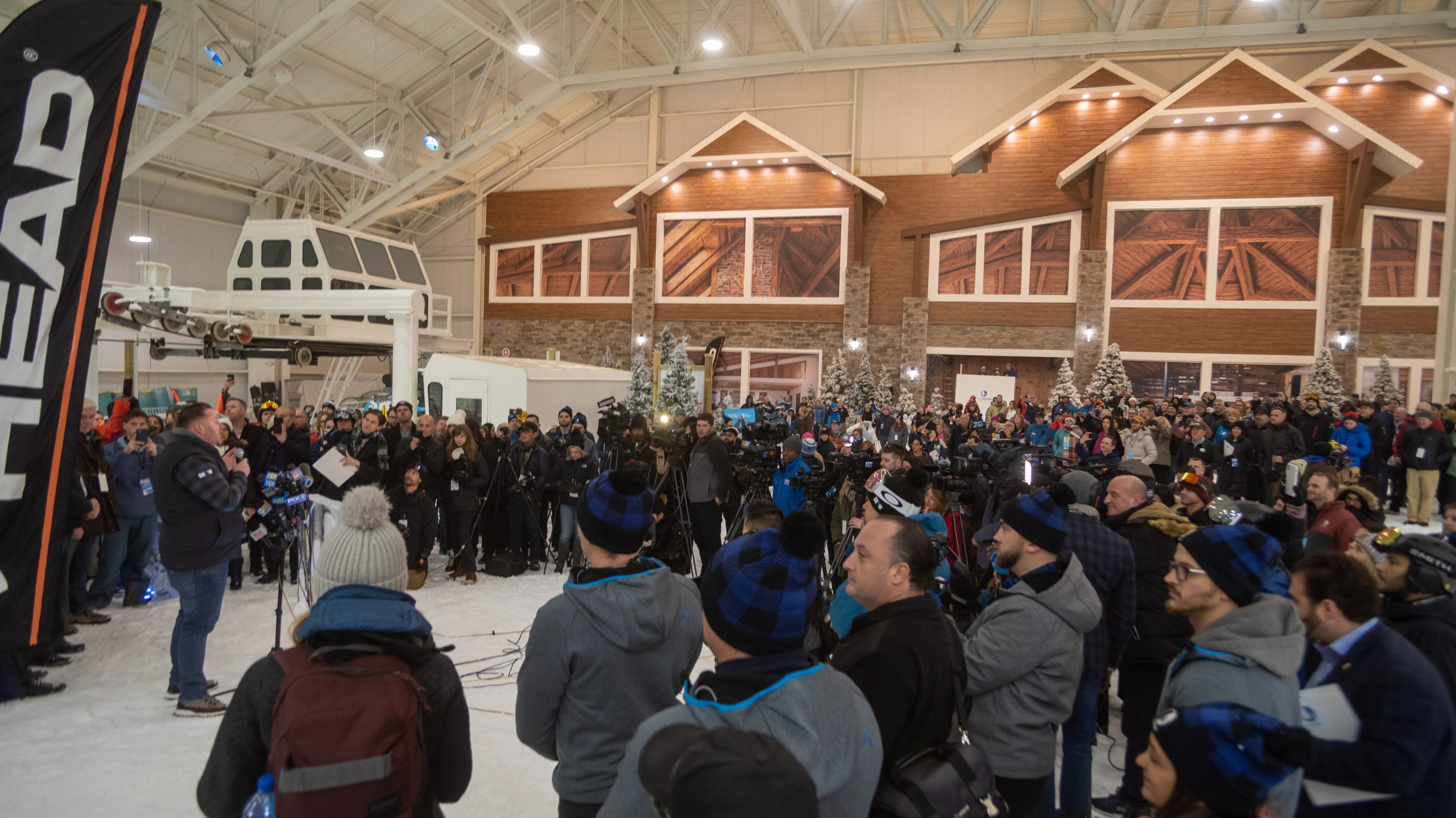 Big SNOW American Dream's Grand Opening