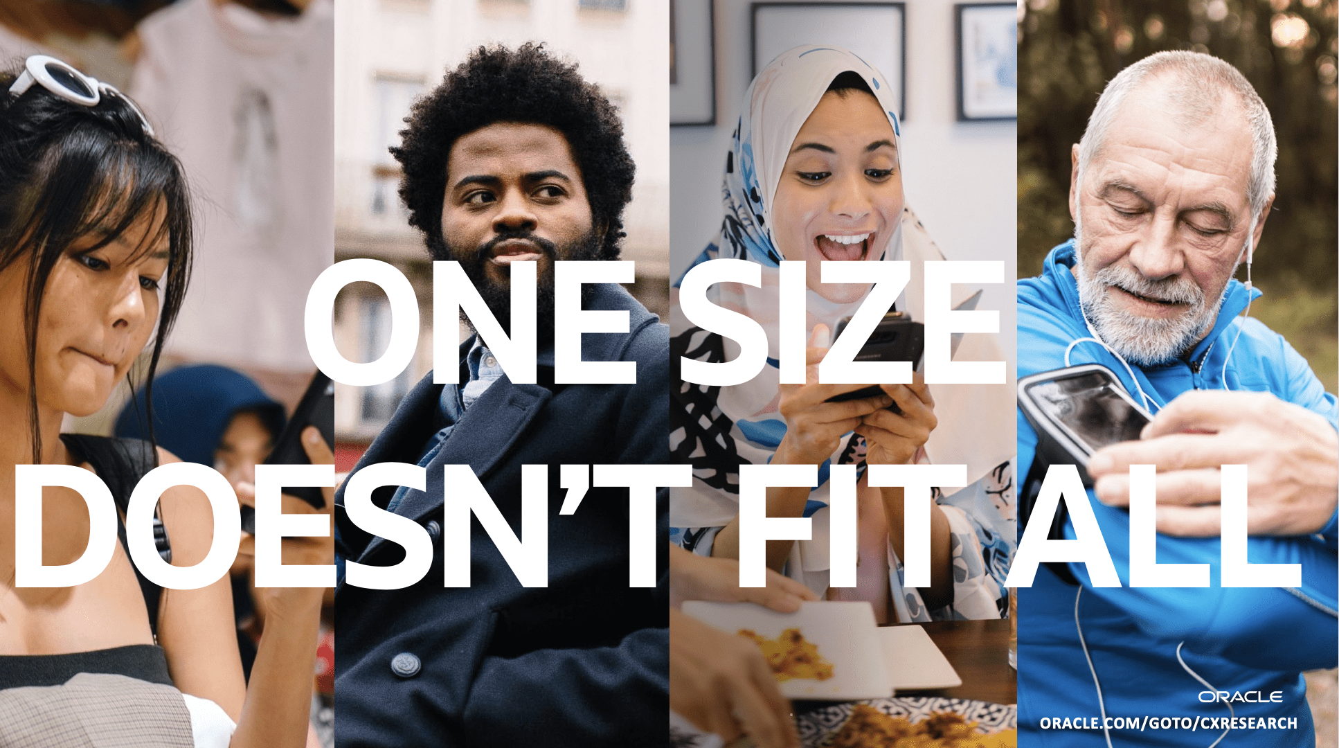 """""""One Size Doesn't Fit All"""" Research Campaign"""